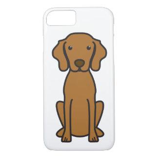 Coque iPhone 8/7 Bande dessinée de chien de Vizsla