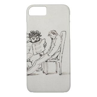 Coque iPhone 8/7 Bande dessinée de William Morris (1834-96) lisant