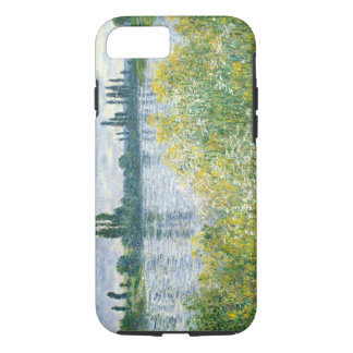 Coque iPhone 8/7 Banques de Claude Monet | de la Seine, Vetheuil,
