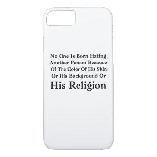 Coque iPhone 8/7 Barack Obama personne est né détestant une autre