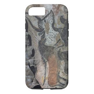 Coque iPhone 8/7 Basculez la peinture d'un taureau et des chevaux,