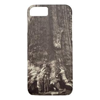 Coque iPhone 8/7 Base du géant grisâtre, 'du livre de Yosemite