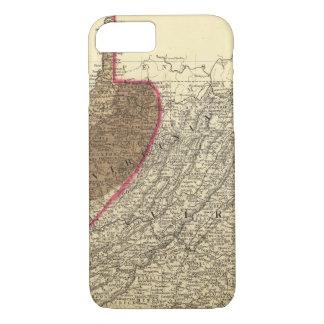 Coque iPhone 8/7 Bassins houillers en Virginie Occidentale