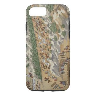 Coque iPhone 8/7 Bataille de Vasilika en 1821, de l'illustré sien