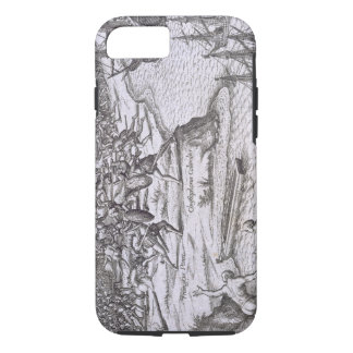 Coque iPhone 8/7 Bataille Jamaïque entre Christophe Colomb (14