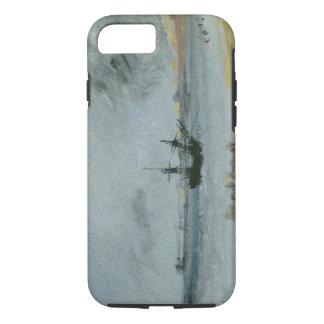 Coque iPhone 8/7 Bateau échoué, Brighton, 1830 (à l'encre noire, la