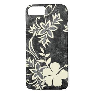 Coque iPhone 8/7 Batik hawaïen de ketmie de Waimanalo