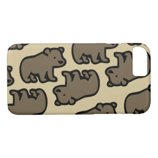 Coque iPhone 8/7 Bear in the forest
