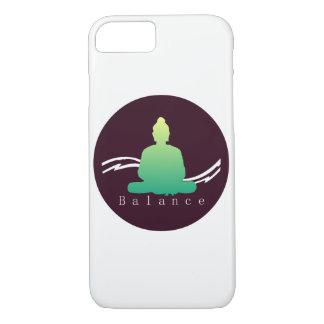 "Coque iPhone 8/7 Beau cas de Bouddha Iphone de ""équilibre"""