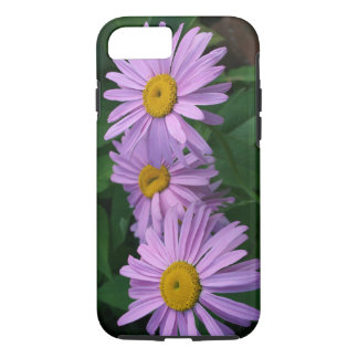 Coque iPhone 8/7 Belles marguerites colorées par lavande peintes