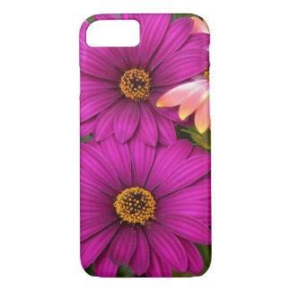 Coque iPhone 8/7 Belles marguerites roses