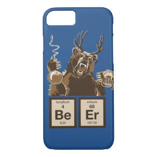 Coque iPhone 8/7 Bière découverte par ours de chimie