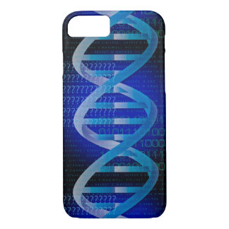 Coque iPhone 8/7 Bleu d'identification d'ADN
