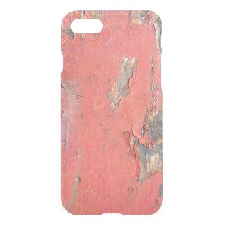 Coque iPhone 8/7 Bois rouge vintage de grange