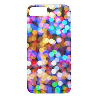 Coque iPhone 8/7 Bokeh multicolore