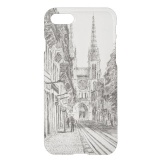 Coque iPhone 8/7 Bordeaux France. Spire.2010 jumeau