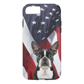Coque iPhone 8/7 Boston patriotique Terrier
