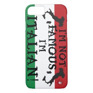 Coque iPhone 8/7 botte italienne Italie non célèbre Italie de