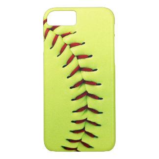 Coque iPhone 8/7 Boule jaune du base-ball