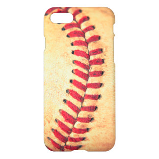 Coque iPhone 8/7 Boule vintage de base-ball