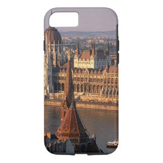 Coque iPhone 8/7 Budapest, Hongrie, le Danube, le Parlement