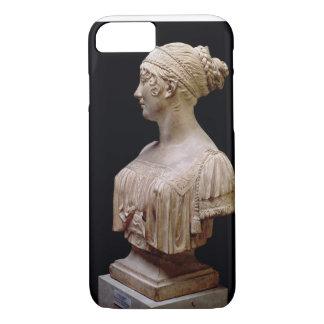 Coque iPhone 8/7 Buste de portrait de Jeanne Delhorme, 1802 (terre
