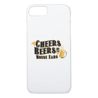 Coque iPhone 8/7 Buveur de bières d'acclamations et d'oreilles de