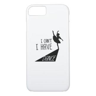Coque iPhone 8/7 Cadeau drôle de ballet de danse je ne peux pas