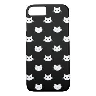 Coque iPhone 8/7 Caisse blanche de téléphone de chat