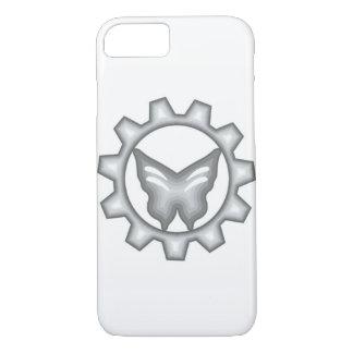 Coque iPhone 8/7 Caisse blanche de téléphone de logo de projet