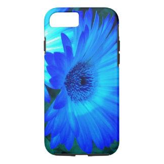 Coque iPhone 8/7 Caisse brillante de l'iPhone 7 de marguerite bleue