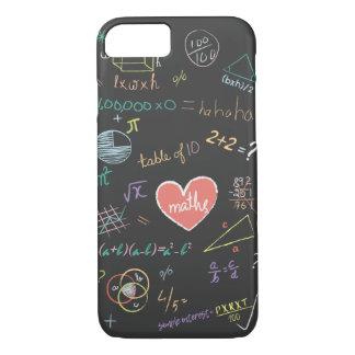 Coque iPhone 8/7 Caisse colorée de téléphone de formule de