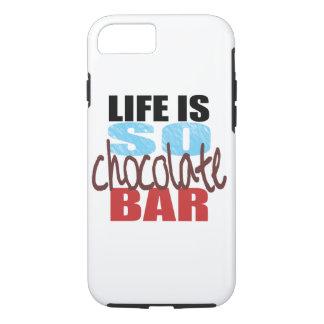 Coque iPhone 8/7 caisse de barre de chocolat de l'iPhone 7 !