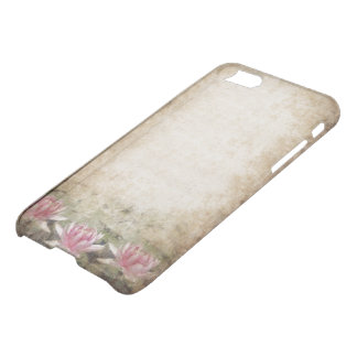 Coque iPhone 8/7 Caisse grunge rose de déflecteur de Clearly™ de