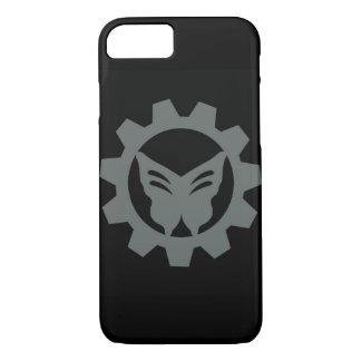Coque iPhone 8/7 Caisse noire de téléphone de logo de projet