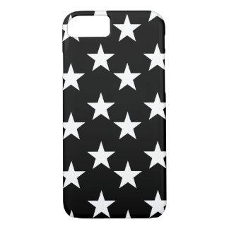 Coque iPhone 8/7 Caisse noire et blanche de téléphone d'impression