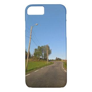 Coque iPhone 8/7 Caisse norvégienne de route de campagne