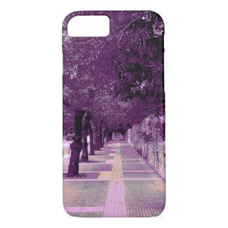 Coque iPhone 8/7 Caisse pourpre urbaine de téléphone d'image