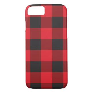 Coque iPhone 8/7 Caisse rouge de l'iPhone 6 de contrôle de Buffalo