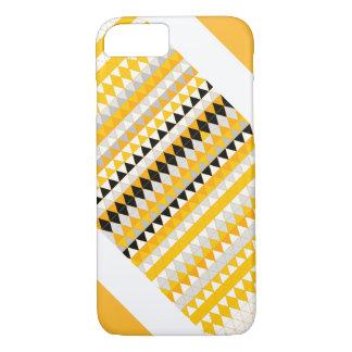 Coque iPhone 8/7 Caisse royale d'or de téléphone de grille
