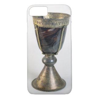 Coque iPhone 8/7 Calice avec des bijoux et une inscription sur le