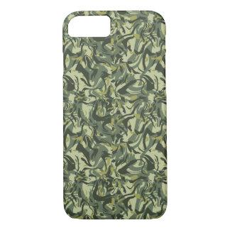 Coque iPhone 8/7 Camo abstrait vert