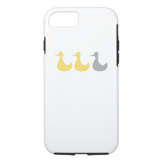 Coque iPhone 8/7 canard de gris de canard de cas de l'iPhone 7