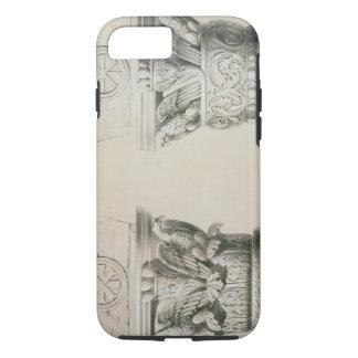Coque iPhone 8/7 Capitaux bizantins des colonnes dans la nef du