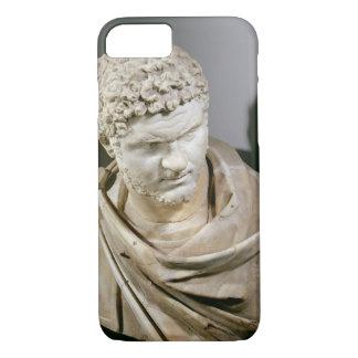 Coque iPhone 8/7 Caracalla, le marbre romain cuirassed le buste,