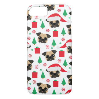 Coque iPhone 8/7 Carlin mignon de Noël