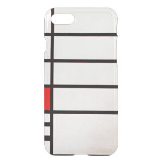 Coque iPhone 8/7 Carré de Mondrian - de Trafalgar