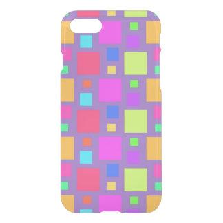 Coque iPhone 8/7 Carrés multicolores 2011