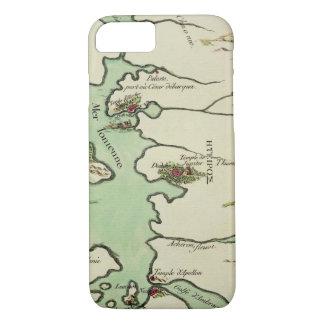 """Coque iPhone 8/7 Carte d'Épire pour """"Andromache"""" par Jean Racine,"""