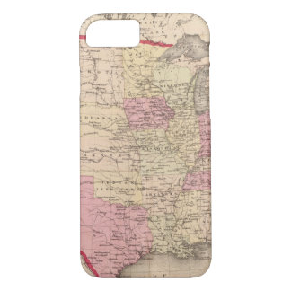 Coque iPhone 8/7 Carte des Etats-Unis 5